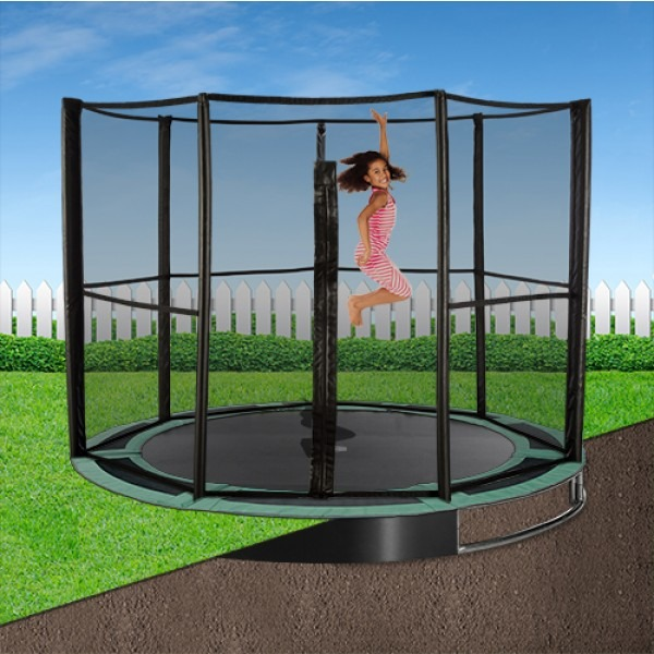 12ft Capital In-Ground Trampoline Safety Enclosure